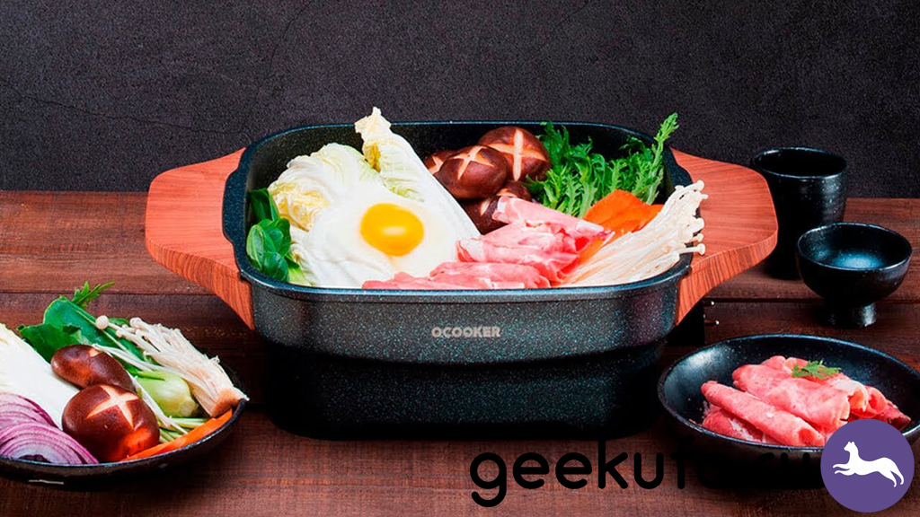 Ocooker Кitchen Multi-functional Hot Pot