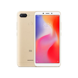Смартфон Xiaomi Redmi 6 32Gb+3Gb Gold купить в Уфе