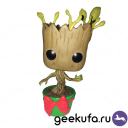 Фигурка Funko POP 101 Marvel - Holiday Dancing Groot 10cm купить в Уфе