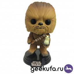 Фигурка Funko POP 195 Star Wars - Chewbacca 10cm купить в Уфе