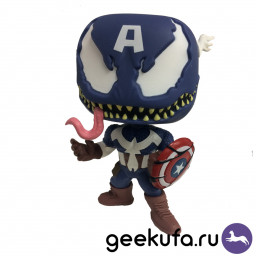 Фигурка Funko POP 364 Venom - Venomized Captain America 10cm купить в Уфе