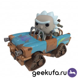 Фигурка Funko POP 37 Rick and Morty - Mad Max Rick 10cm купить в Уфе