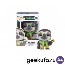 Фигурка Funko POP 190 Zootopia - Flash 9cm купить в Уфе
