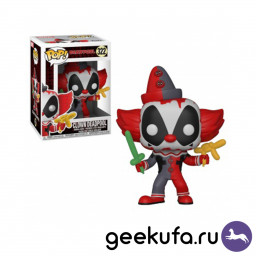 Фигурка Funko POP 322 Deadpool - Clown Deadpool 10cm купить в Уфе