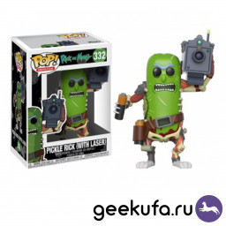 Фигурка Funko POP 332 Rick & Morty - Pickle Rick (with laser) 10cm купить в Уфе