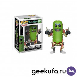 Фигурка Funko POP 333 Rick and Morty - Pickle Rick 10cm купить в Уфе