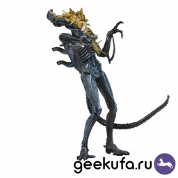 Фигурка NECA Aliens: Xenomorph Warrior (Battle Damaged) blue купить в Уфе