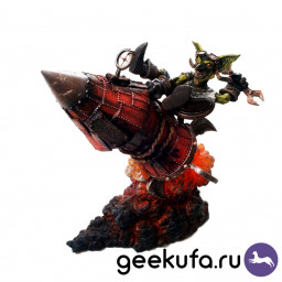 Фигурка World Of WarCraft Series 6: Goblin Tinker - Gibzz Sparklighter купить в Уфе