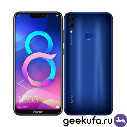 Смартфон Huawei Honor 8C 3/32Gb Blue купить в Уфе