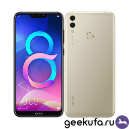 Смартфон Huawei Honor 8C 3/32Gb Gold купить в Уфе