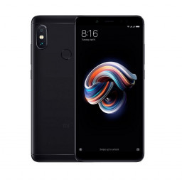Смартфон Xiaomi Redmi Note 5 64Gb+4Gb Black купить в Уфе