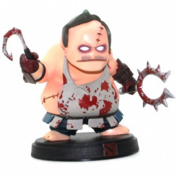 Фигурка Dota 2 Pudge + weapon 10cm купить в Уфе