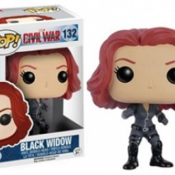 Фигурка Funko POP 132 Marvel - Black Widow 9cm купить в Уфе