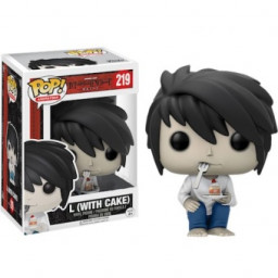 "Фигурка Funko POP 219 Death Note - Ryuzaki ""L"" 10cm купить в Уфе"