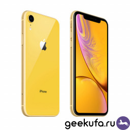 Смартфон Apple iPhone XR 64Gb Yellow купить в Уфе