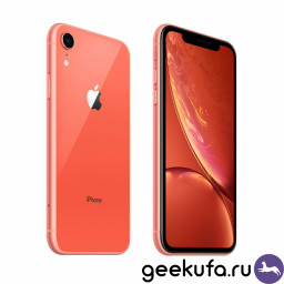Смартфон Apple iPhone XR 128Gb Coral купить в Уфе