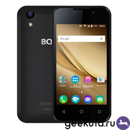 Смартфон BQ BQ-4072 Strike Mini Black купить в Уфе