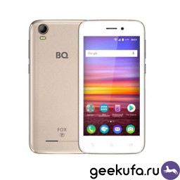 Смартфон BQ BQ-4583 Fox Power Gold купить в Уфе