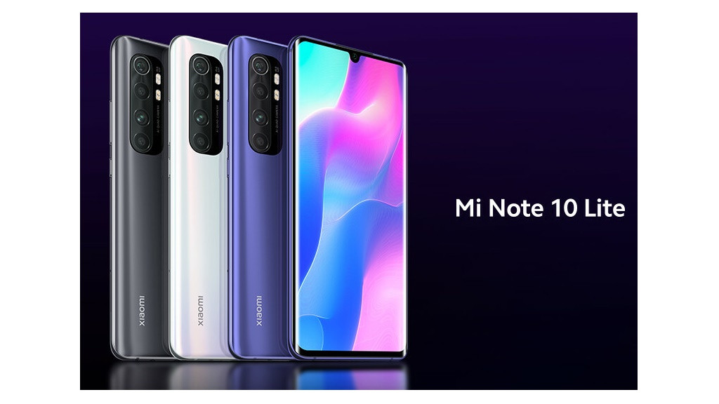 Mi Note 10 Lite - облегченная версия камерофона от Xiaomi